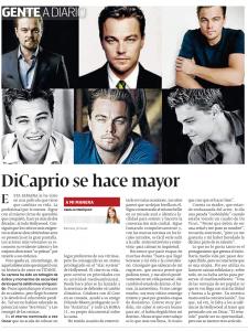 DiCaprio se hace mayor