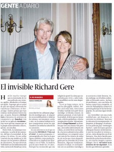 El invisible Richard Gere