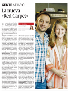 "La nueva ""red carpet"""