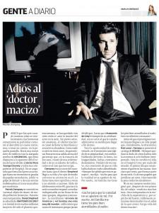 "Adiós al ""doctor macizo"""